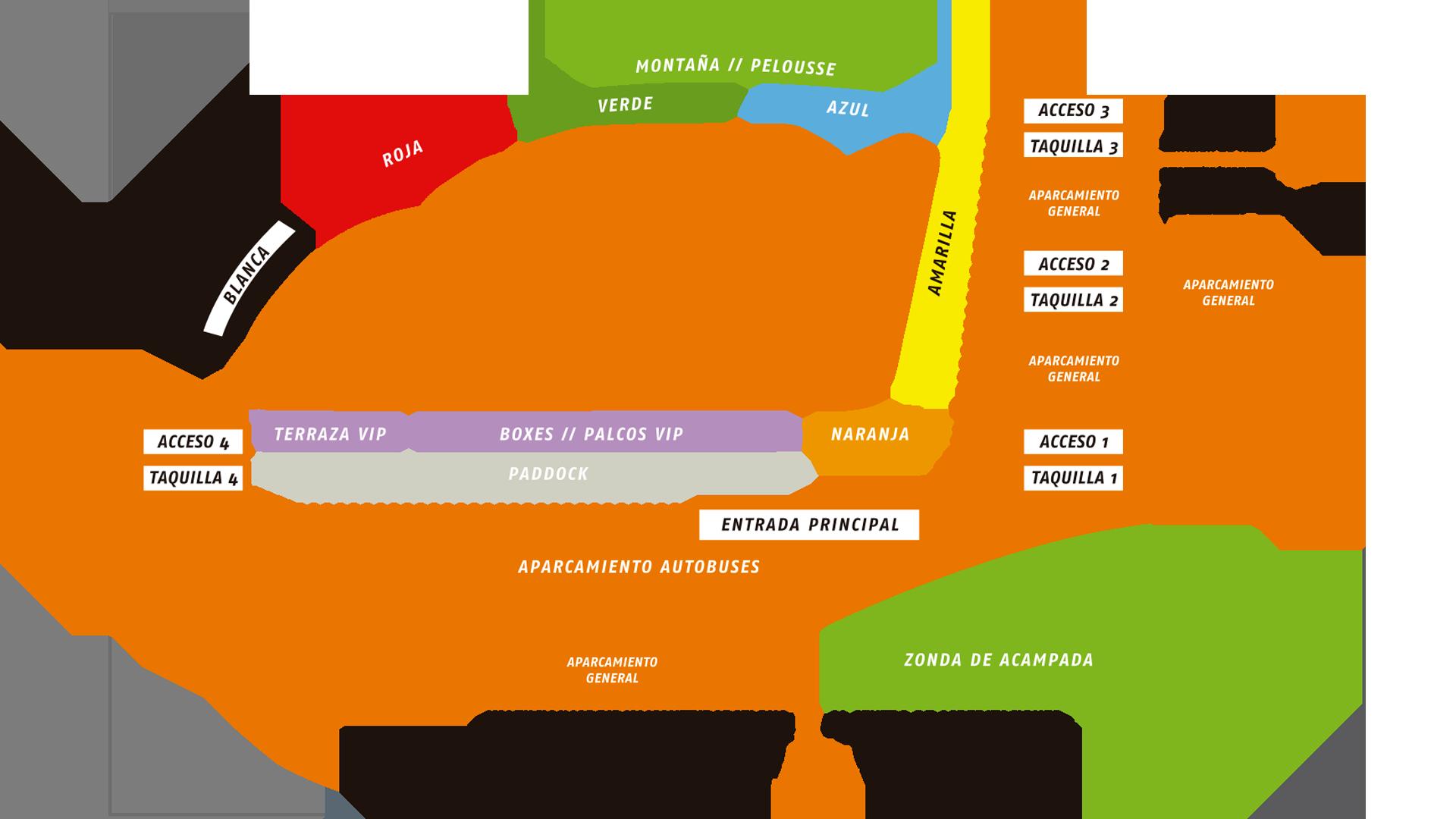 Circuito plano Ricardo Tormo Moto GP